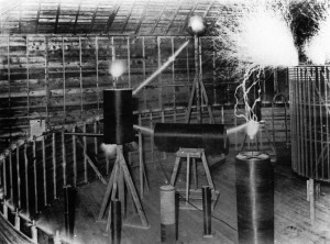 Another angle of Tesla's Lab used for reference.