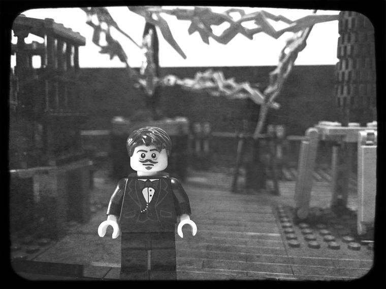 Nikola Tesla in Lego